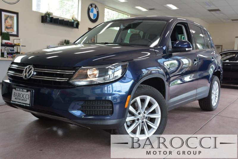 2014 Volkswagen Tiguan SE 4dr SUV 6 Speed Auto Blue ABS Air Conditioning Alarm Alloy Wheels