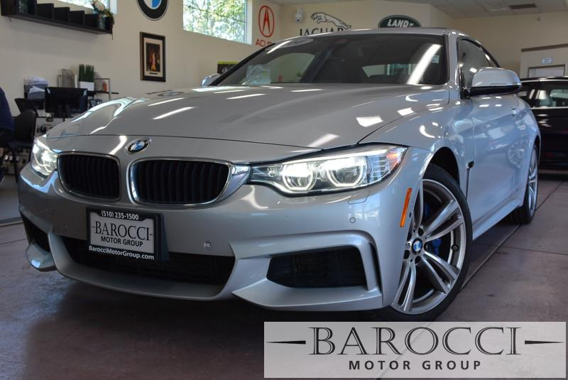 2014 BMW 4 Series 435i xDrive AWD-M Sport Pkg Automatic Silver Black Now offering a very nice 2