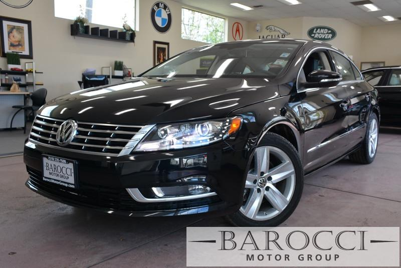 2015 Volkswagen CC Sport PZEV 4dr Sedan 6A 6 Speed Auto Black ABS Air Conditioning Alarm Allo