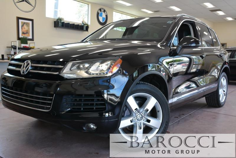 2012 Volkswagen Touareg VR6 Sport AWD  4dr SUV 8 Speed Auto Black Black ABS Air Conditioning