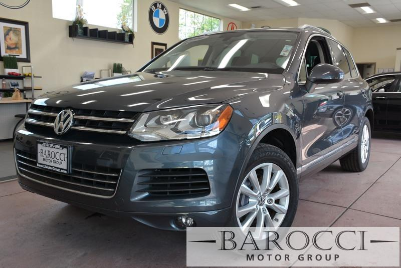 2014 Volkswagen Touareg V6 Sport AWD  4dr SUV 8 Speed Auto Gray ABS Air Conditioning Alarm Al