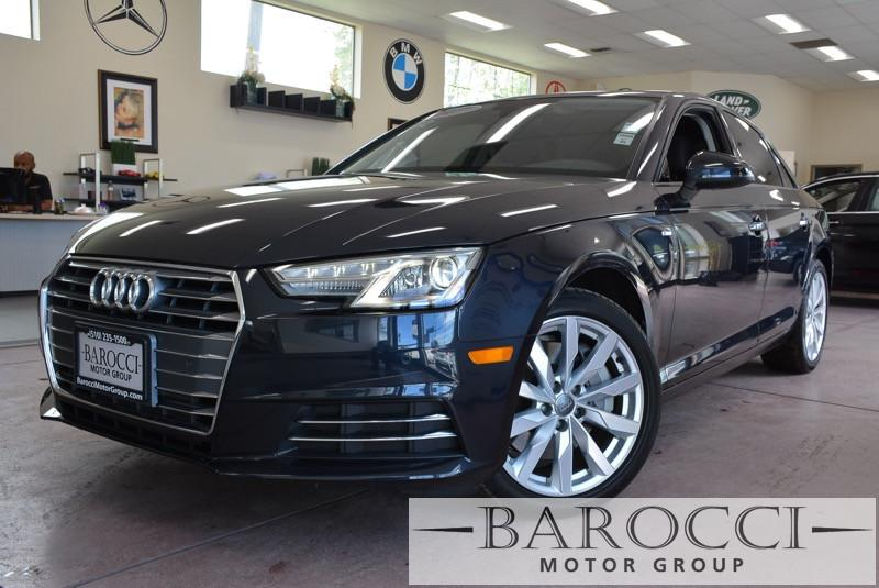 2017 Audi A4 20T Premium 4dr Sedan 7 Speed Auto Blue Black Child Safety Door Locks Power Door