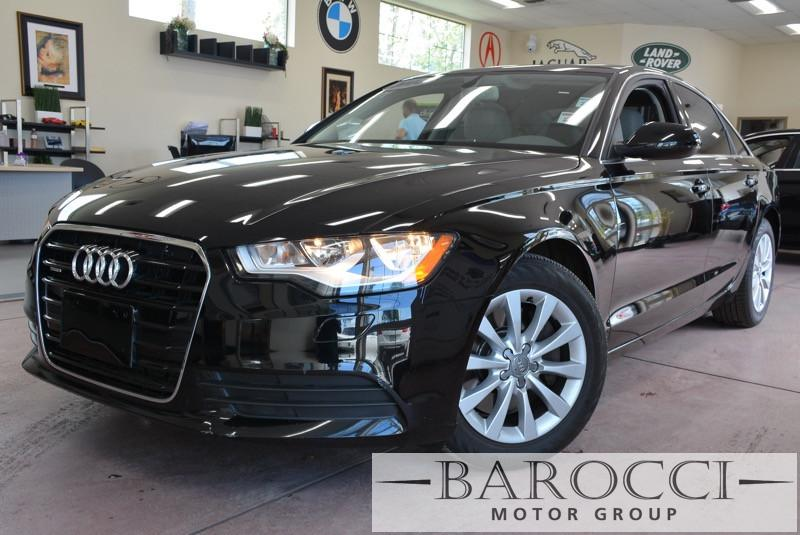 2014 Audi A6 20T Premium 4dr Sedan Automatic Black ABS Air Conditioning Alarm Alloy Wheels