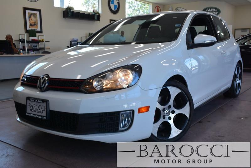 2011 Volkswagen GTI Base PZEV 2dr Hatchback 6A 6 Speed Auto White Black Power Door Locks Vehic