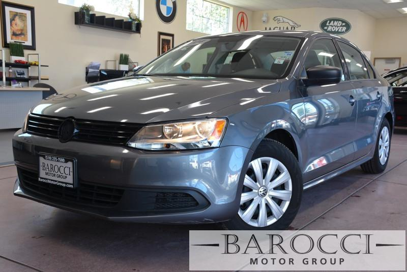 2014 Volkswagen Jetta S 4dr Sedan 6A 6 Speed Auto Gray Black Child Safety Door Locks Power Doo