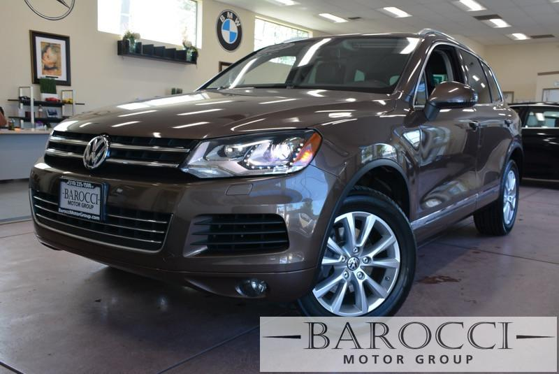2013 Volkswagen Touareg VR6 Sport AWD  4dr SUV 8 Speed Auto Dk Brown ABS Air Conditioning Ala