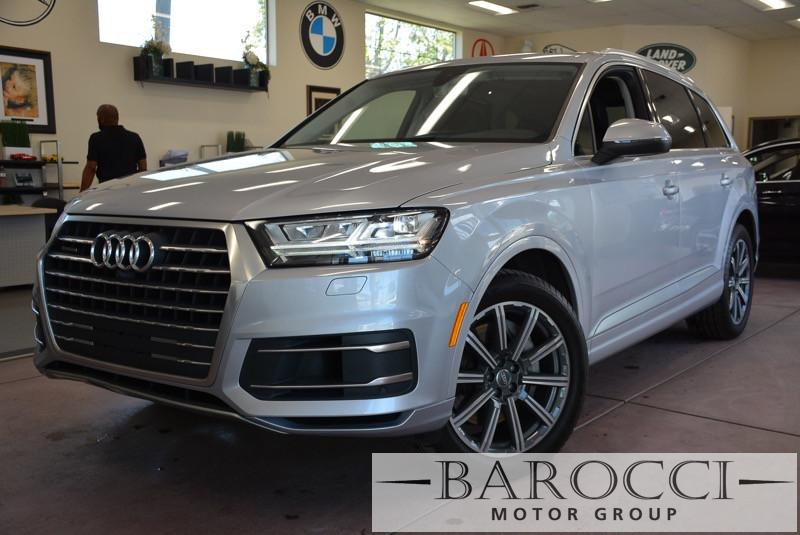 2017 Audi Q7 30T quattro Premium Plu AWD 8 Speed Auto Silver Black Child Safety Door Locks Po