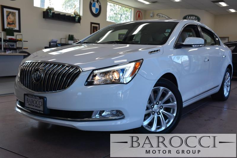 2014 Buick LaCrosse Leather 4dr Sedan 6 Speed Auto White Tan ABS 4-Wheel Disc Brakes Tires -