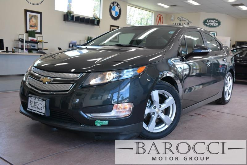 2014 Chevrolet Volt Premium 4dr Hatchback 1 Speed Auto Gray Black ABS Air Conditioning Alarm