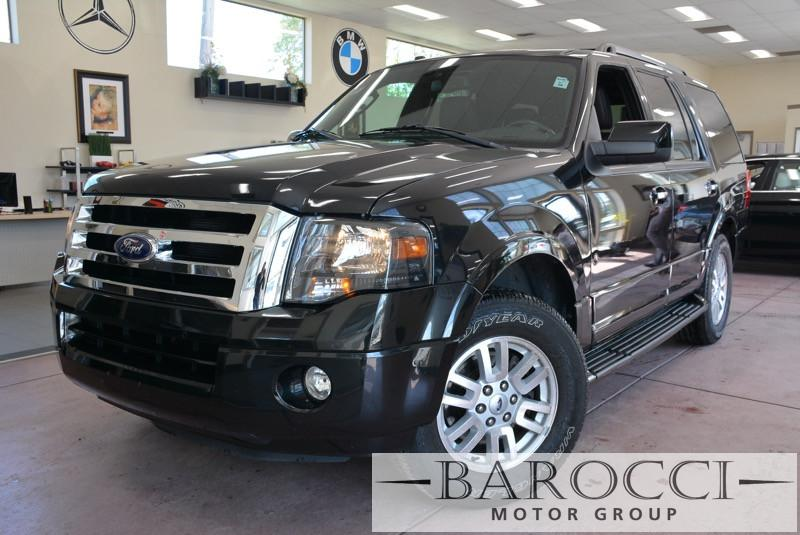 2014 Ford Expedition Limited 4x2  4dr SUV 6 Speed Auto Black Black Child Safety Door Locks Pow