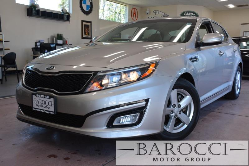 2014 Kia Optima LX 4dr Sedan 6 Speed Auto Gold Beige Child Safety Door Locks Power Door Locks
