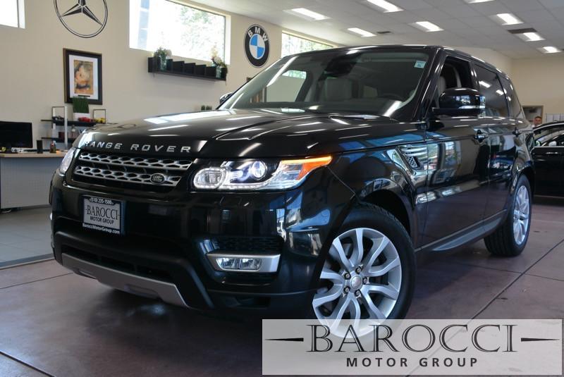 2014 Land Rover Range Rover Sport HSE 4x4  4dr SUV 8 Speed Auto Black Child Safety Door Locks L