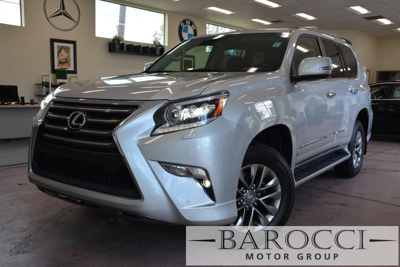 2014 Lexus GX 460 Luxury 4x4  4dr SUV 6 Speed Auto Silver Black Child Safety Door Locks Power