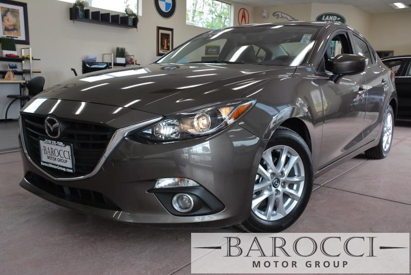 2014 Mazda MAZDA3 i Grand Touring 4dr Sedan 6A 6 Speed Auto Dk Brown Black Child Safety Door L