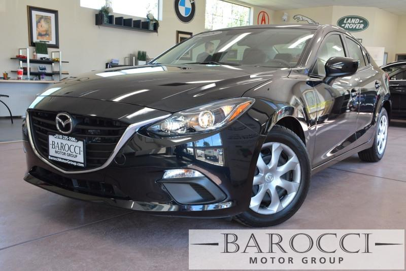 2015 Mazda MAZDA3 i Sport 4dr Sedan 6A 6 Speed Auto Black Black ABS Air Conditioning Alarm A