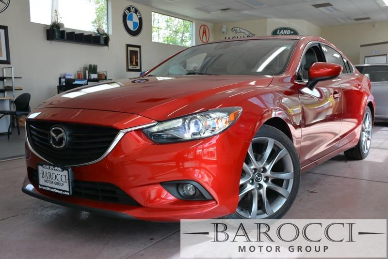 2014 Mazda MAZDA6 i Grand Touring 4dr Sedan 6 Speed Auto Red Tan ABS Air Conditioning Alarm