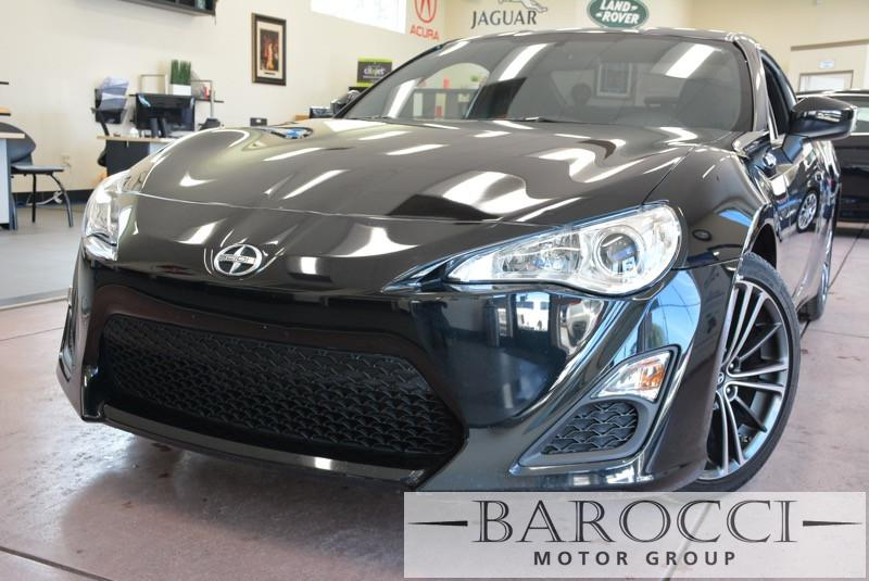 2015 Scion FR-S Base 2dr Coupe 6M 6 Speed Man Black Black ABS Air Conditioning Alarm Alloy