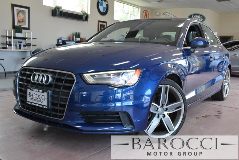 2015 Audi A3 18T Premium Plus 4dr Sedan 6 Speed Auto Blue Black ABS Air Conditioning Alarm