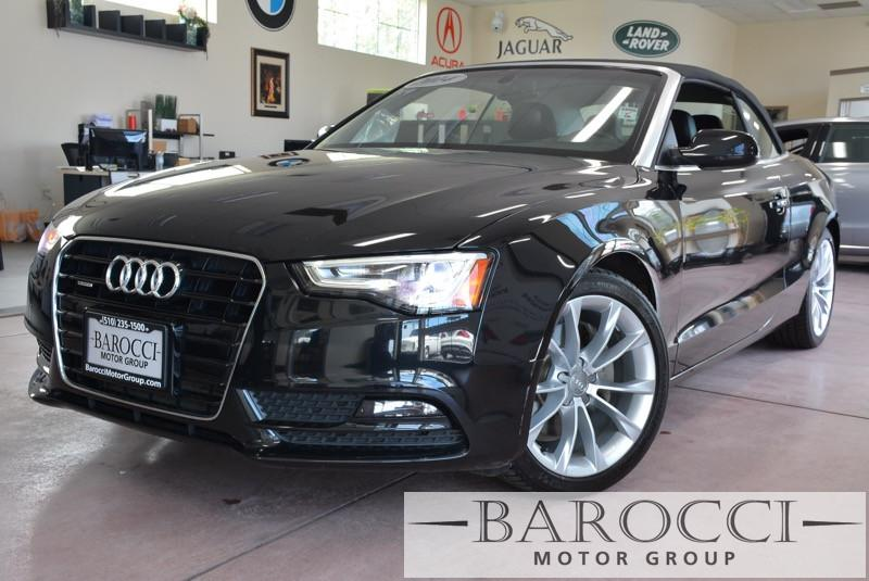 2014 Audi A5 20T quattro Premium Plus AWD 8 Speed Auto Black Black ABS Air Conditioning Alar