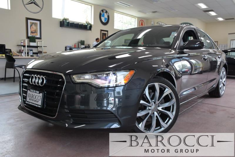2013 Audi A6 20T quattro Premium Plus AWD 8 Speed Auto Gray Black We are proud to offer an exq
