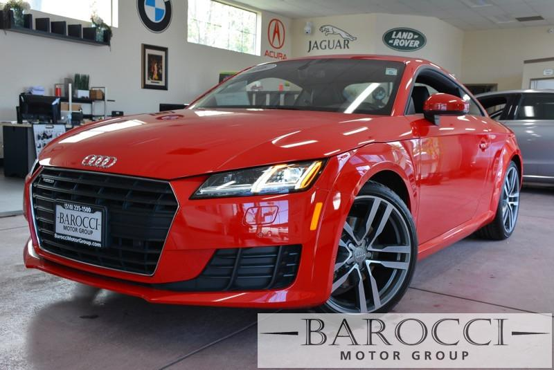 2016 Audi TT 20T quattro AWD  2dr Coupe 6 Speed Auto Red Black Child Safety Door Locks Power