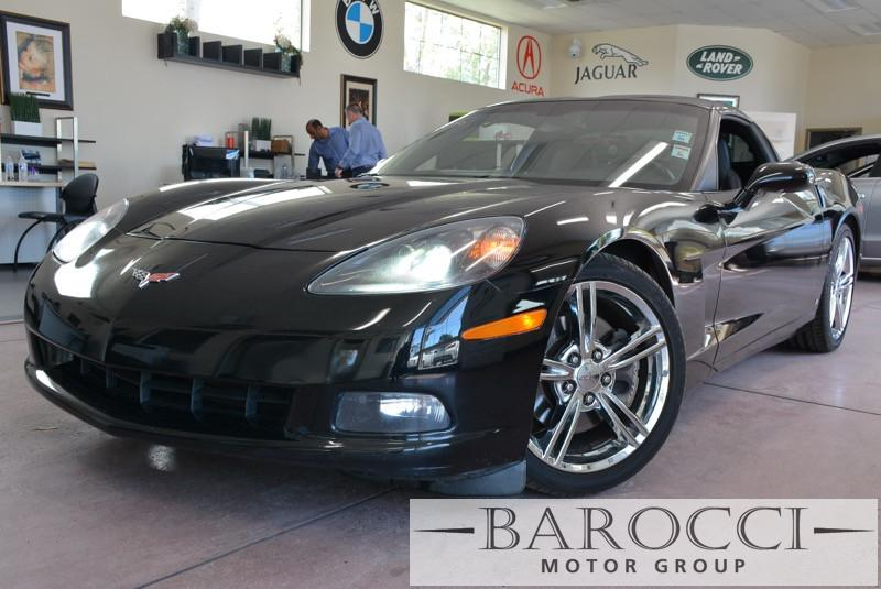 2009 Chevrolet Corvette Base 2dr Coupe w1LT 6-Speed Automatic  Black Black Power Door Locks V
