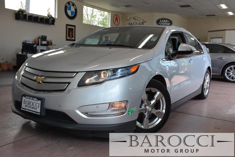 2014 Chevrolet Volt Premium 4dr Hatchback 1 Speed Auto Silver Black ABS Air Conditioning Alar