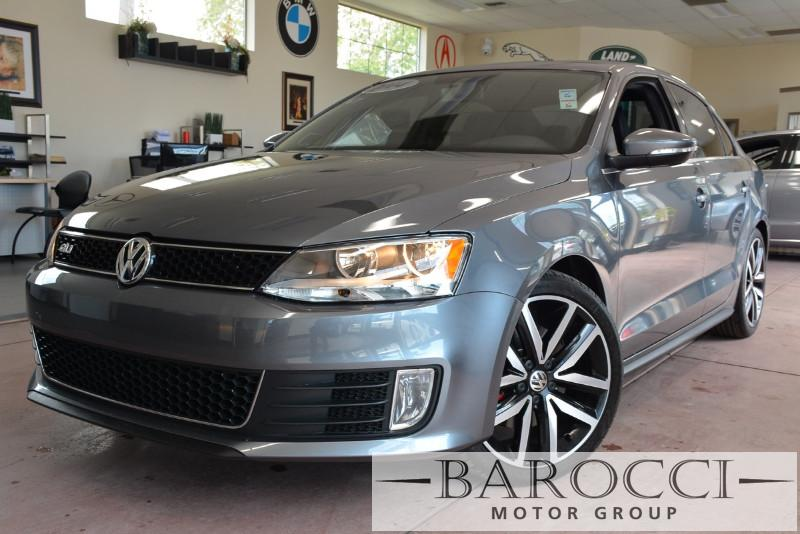 2014 Volkswagen Jetta GLI PZEV 4dr Sedan 6A 6 Speed Auto Gray Black ABS Air Conditioning Alar