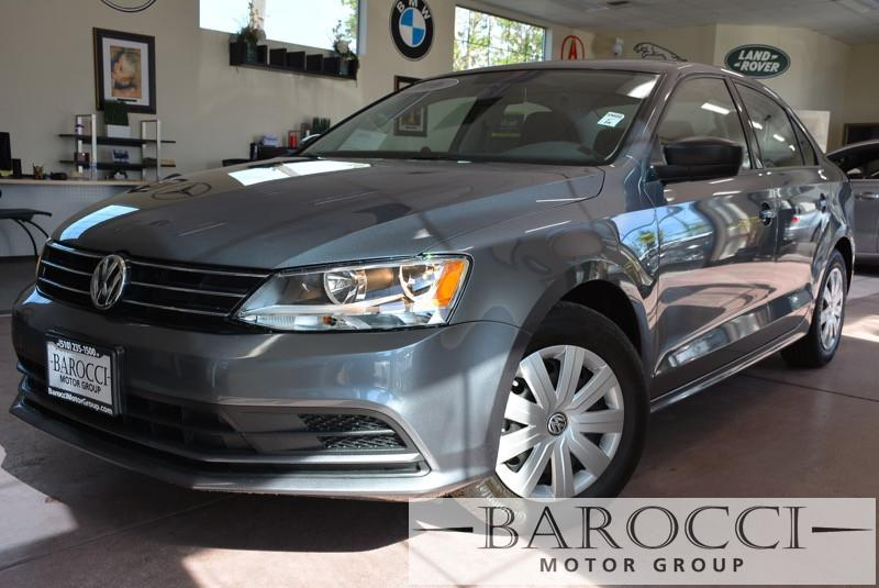 2016 Volkswagen Jetta 14T S 4dr Sedan 6A 6 Speed Auto Gray Gray ABS Air Conditioning Alarm