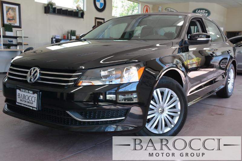 2015 Volkswagen Passat S PZEV 4dr Sedan 6A 6 Speed Auto Black Gray ABS 4-Wheel Air Conditionin