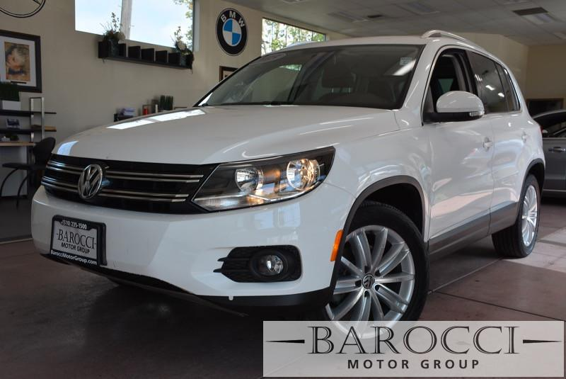 2013 Volkswagen Tiguan SE 4dr SUV 6 Speed Auto White Beige This is an excellent one owner 2013