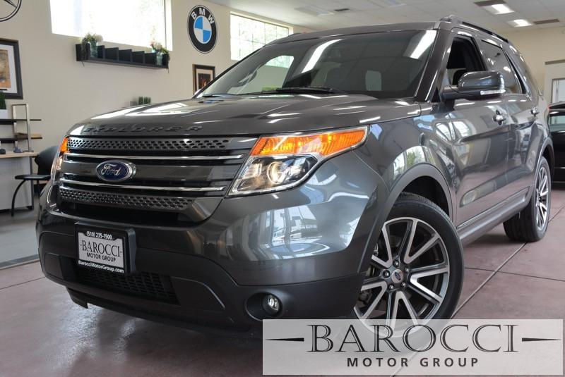 2015 Ford Explorer XLT 4dr SUV 6 Speed Auto Gray Black Now for sale is a beautiful one owner 20