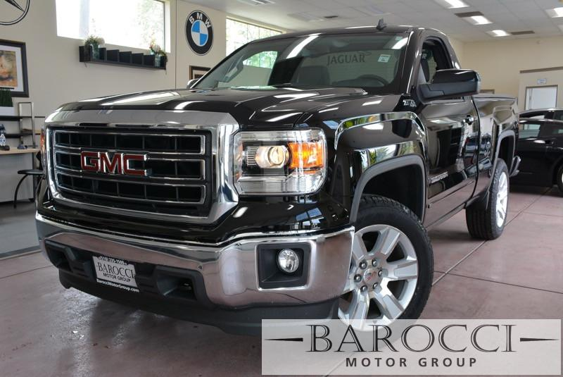 2014 GMC Sierra 1500 SLE 4x4  2dr Regular Cab 65 6 Speed Auto Black Gray We are excited to off