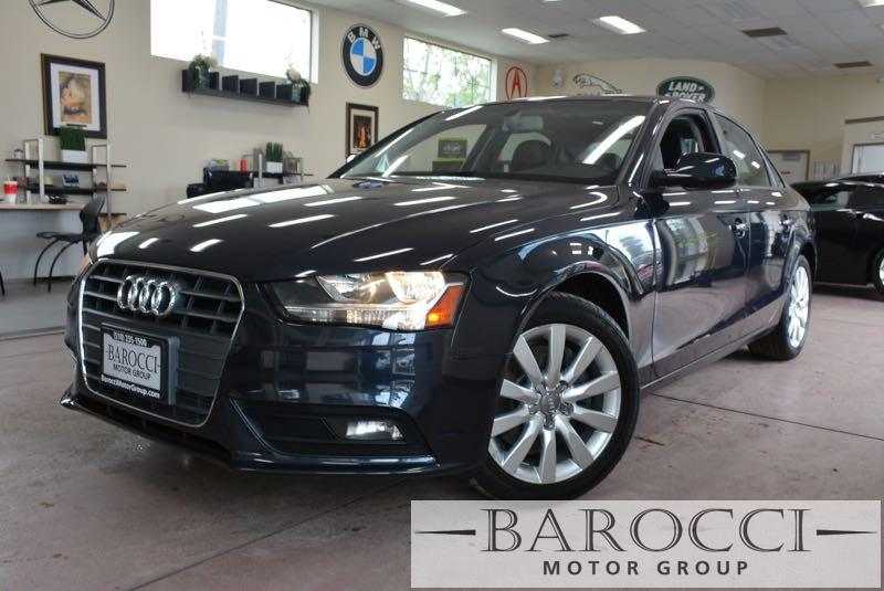 2014 Audi A4 20T Premium 4dr Sedan Automatic CVT Blue Black You are looking at this fantastic