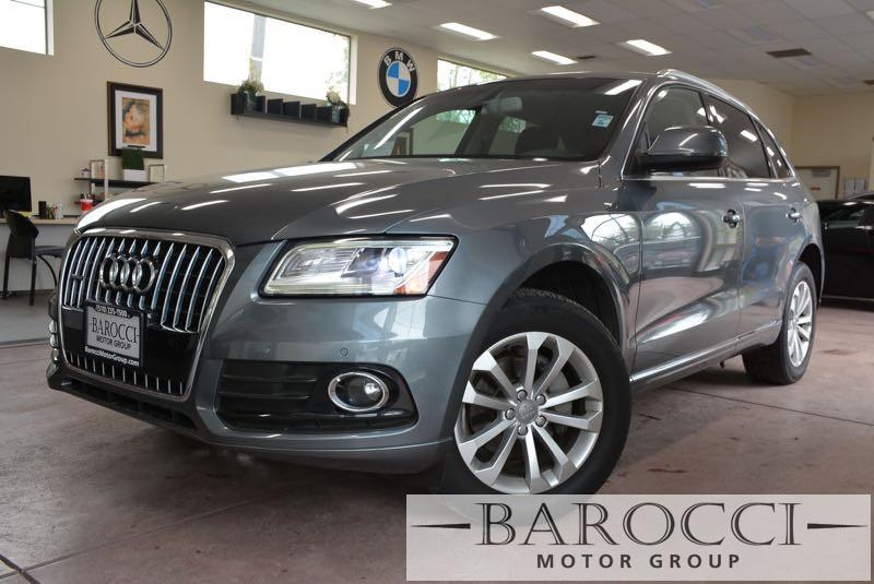 2014 Audi Q5 20T quattro Premium AWD  4dr SUV 8 Speed Auto Gray Black You are looking at a bea