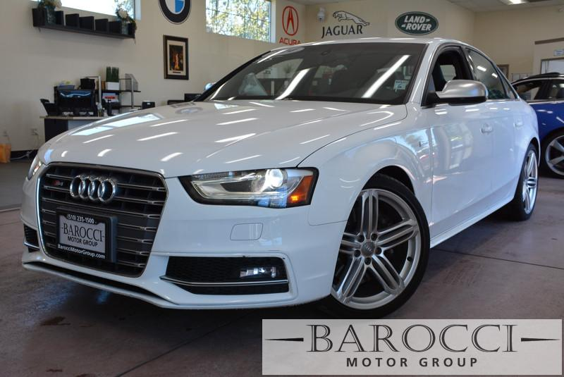 2014 Audi S4 30T quattro Premium Plus 4dr 7 Speed Auto White Black Now offering an outstanding