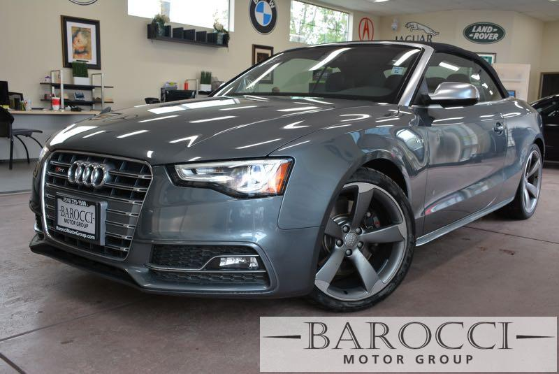2014 Audi S5 30T quattro Premium AWD  2dr Conve 7 Speed Auto Gray Black ABS Air Conditioning
