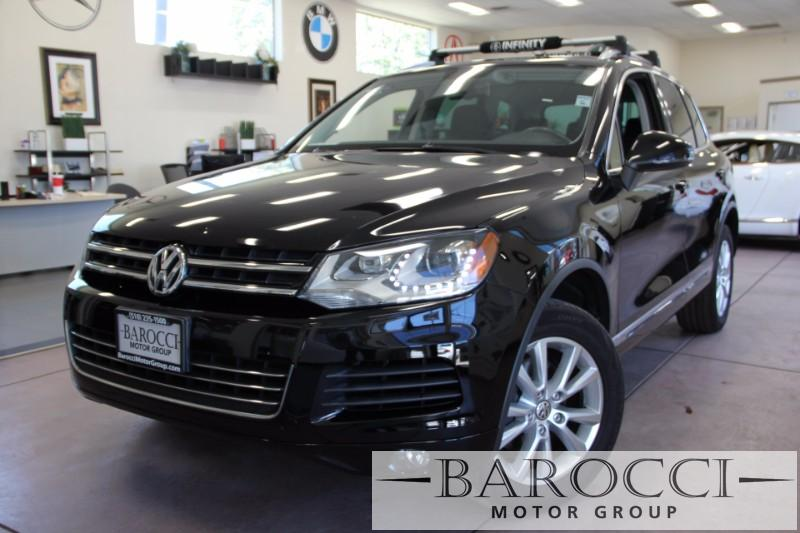 2014 Volkswagen Touareg V6 Sport AWD  4dr SUV 8 Speed Auto Black Black ABS Air Conditioning A
