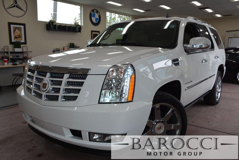 2014 Cadillac Escalade Luxury 4dr SUV 6 Speed Auto White Tan We are excited to offer a beautifu