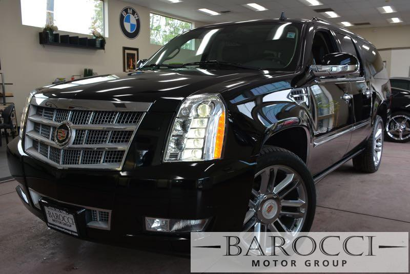 2014 Cadillac Escalade ESV Platinum 4dr SUV 6 Speed Auto Black Brown You are looking at an outs