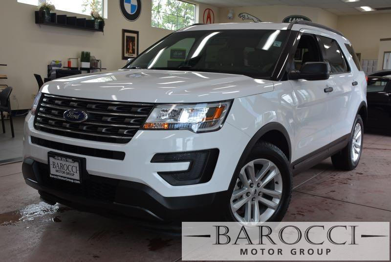 2016 Ford Explorer Base 4dr SUV 6 Speed Auto White Beige Now offering an immaculate one owner 2