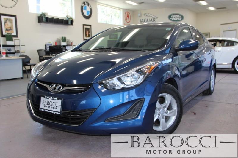 2014 Hyundai Elantra SE 4dr Sedan 6A 6 Speed Auto Blue Beige We are proud to offer a super nice