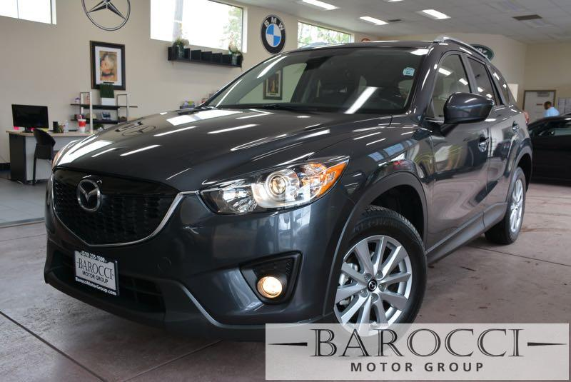 2014 Mazda CX-5 Touring 4dr SUV 6 Speed Auto Gray Black This is a delightful one owner 2014 Maz