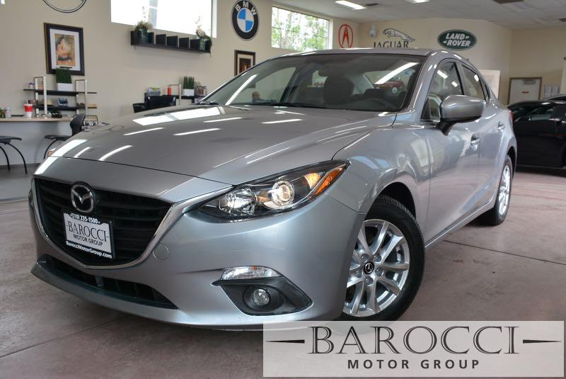 2016 Mazda MAZDA3 I Touring 4dr Sedan 6A 6 Speed Auto Silver Black Now for sale is an immaculat