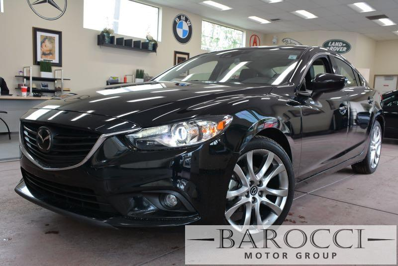 2014 Mazda MAZDA6 i Grand Touring 4dr Sedan 6 Speed Auto Black Black Up for sale is a striking