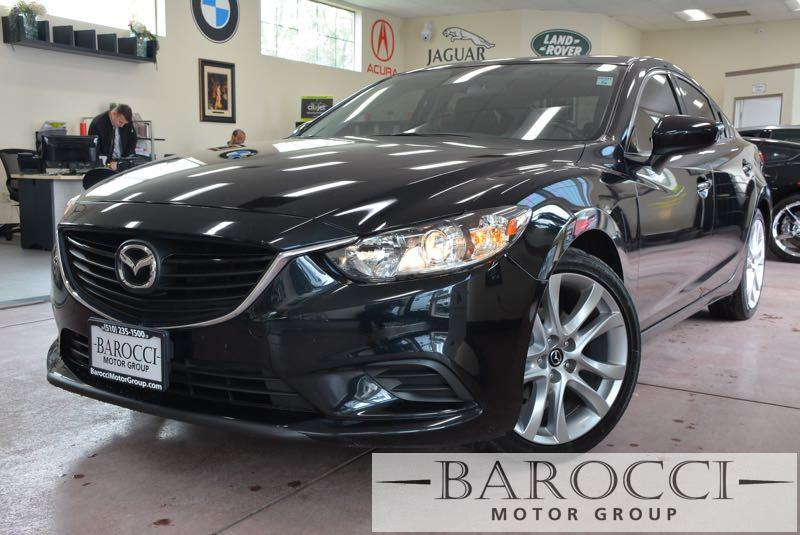 2015 Mazda MAZDA6 i Touring 4dr Sedan 6A 6 Speed Auto Black Black You are looking at a clean on