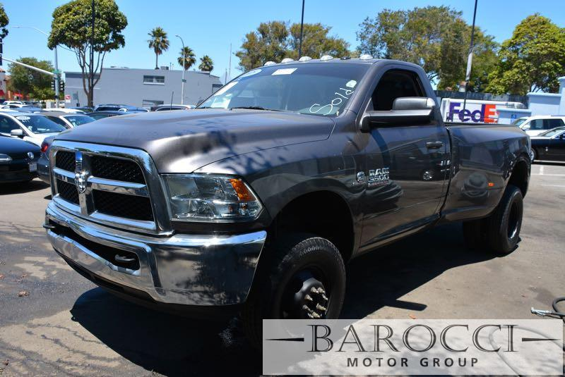 2015 Ram Ram Pickup 3500 Tradesman 4x4  2dr Regular Cab 8 ft Automatic Gray Gray Now for sale i