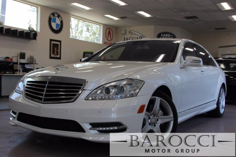 2010 MERCEDES S-Class S550 7-Speed Automatic White Black We are excited to offer an immaculate