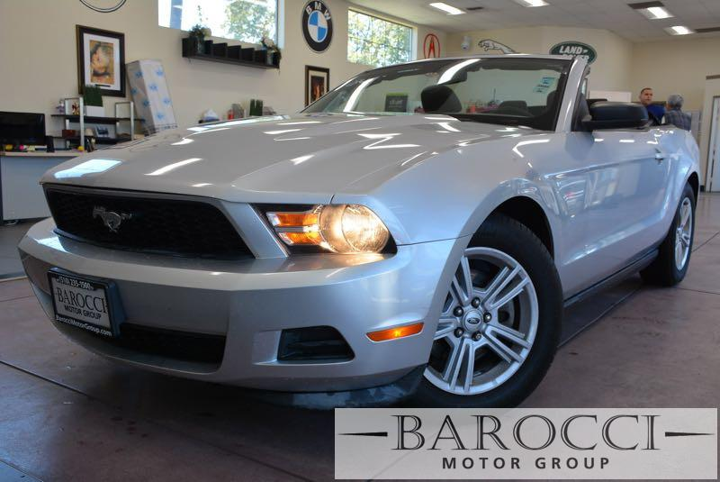 2012 Ford Mustang V6 2dr Convertible Automatic Silver Black Air Conditioning Alarm Power Stee