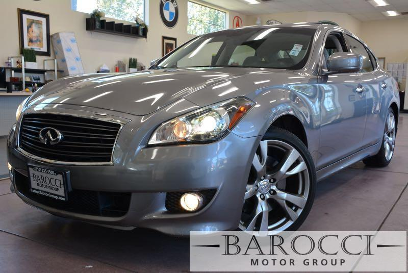 2011 Infiniti M37 S Sport 4dr Sedan 7 Speed Auto Gray Off White This is a beautiful M 37 in ama